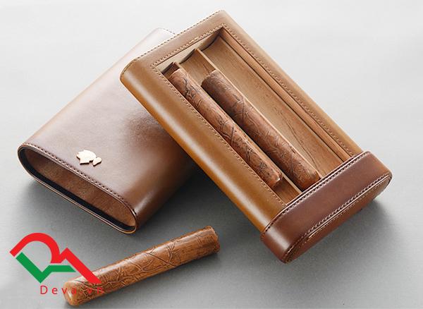 Bao da giữ ẩm xì gà 3 điếu Cohiba 308B